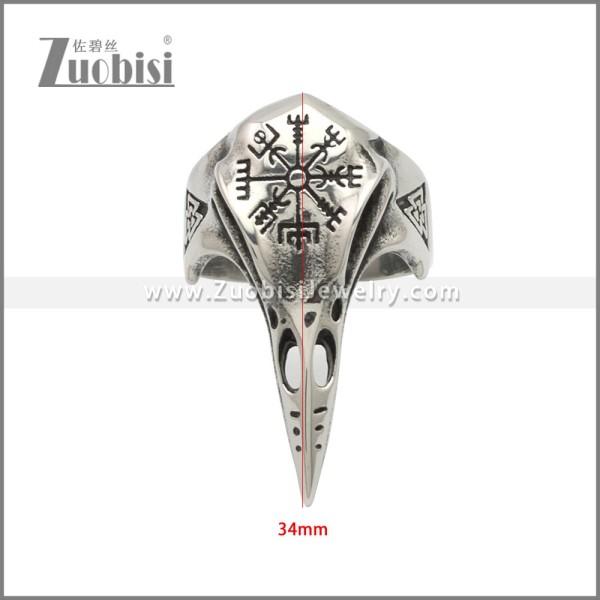 Stainless Steel Ring r008946SH