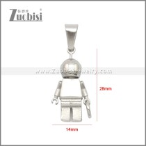 Stainless Steel Pendant p011141S