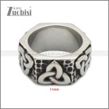 Stainless Steel Ring r008959SH