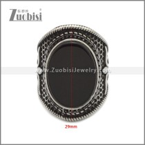 Stainless Steel Ring r008956SH