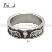 Stainless Steel Ring r008972SA