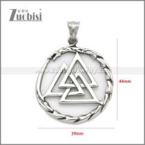 Stainless Steel Pendant p011143S