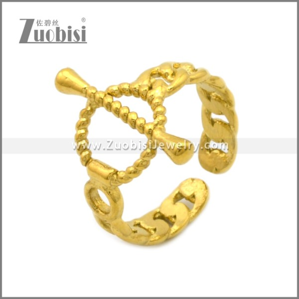 Stainless Steel Ring r008989G
