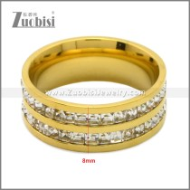 Stainless Steel Ring r009011G