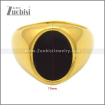Stainless Steel Ring r009026G