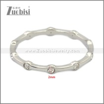 Stainless Steel Ring r009008S