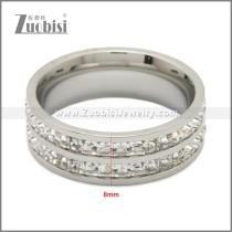 Stainless Steel Ring r009011S