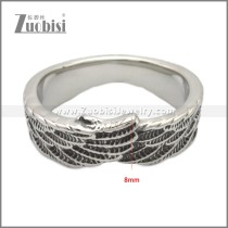 Stainless Steel Ring r009028SA