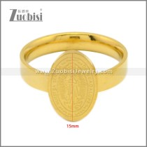 Stainless Steel Ring r009017G