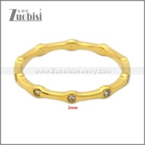 Stainless Steel Ring r009008G