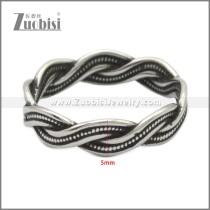 Stainless Steel Ring r009006SH