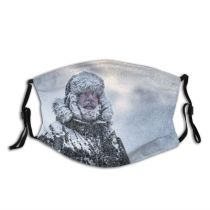 yanfind Exploration Ice Away Arctic Frozen Cool Polar Climbing Hiking Snow Beard Warm Dust Washable Reusable Filter and Reusable Mouth Warm Windproof Cotton Face