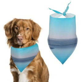 yanfind Pet Scarf Lake Clear Sky Windows X Microsoft Landscape Pet Outfit Kerchiefs Accessories for Small to Large Dogs Cats