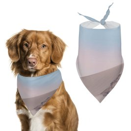 yanfind Pet Scarf Landscape Desert Sand Dunes Clear Sky Microsoft Pet Outfit Kerchiefs Accessories for Small to Large Dogs Cats
