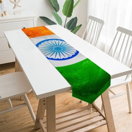Yanfind Table Runner Indian Flag Tricolour Flag National Flag Flag India 003 Everyday Dining Wedding Party Holiday Home Decor
