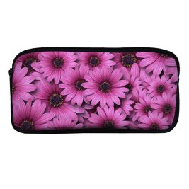 yanfind Pencil Case YHO Flowers Gerbera Flowers Daisy Flowers Daisies Zipper Pens Pouch Bag for Student Office School