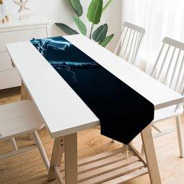 Yanfind Table Runner Andrey Spiridonov Graphics CGI Thor Thunder Everyday Dining Wedding Party Holiday Home Decor