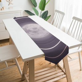 Yanfind Table Runner Ahmed Elharagy Fantasy Couple Moon Rings Mood Everyday Dining Wedding Party Holiday Home Decor