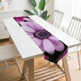 Yanfind Table Runner Jeff Turner Flowers Daisy Flowers Purple Flowers Flowers Garden Closeup Bloom Blossom Everyday Dining Wedding Party Holiday Home Decor