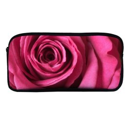 yanfind Pencil Case YHO Flowers Rose Macro Bloom Zipper Pens Pouch Bag for Student Office School
