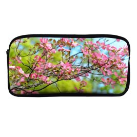 yanfind Pencil Case YHO Flowers Flowers Spring Bokeh Beautiful Bloom Zipper Pens Pouch Bag for Student Office School