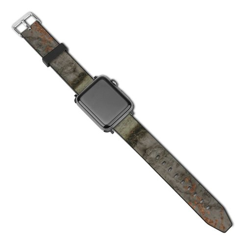 yanfind Watch Strap for Apple Watch Winter Deciduous Garden Leaf Trees Plant Stem Tree Plant Trunk Branch Atmospheric Compatible with iWatch Series 5 4 3 2 1
