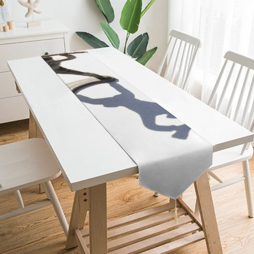Yanfind Table Runner Soldier Guy Fighting Fight Fighter Battle Brave Hero Machine Death Scary Helmit Everyday Dining Wedding Party Holiday Home Decor