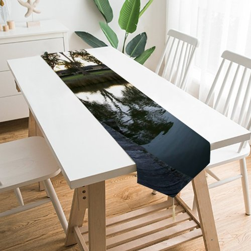 Yanfind Table Runner Mountains Scenic Clouds Landscape Colorado Mountainous Landforms Mountain Sky Highland Cloud Atmospheric Everyday Dining Wedding Party Holiday Home Decor
