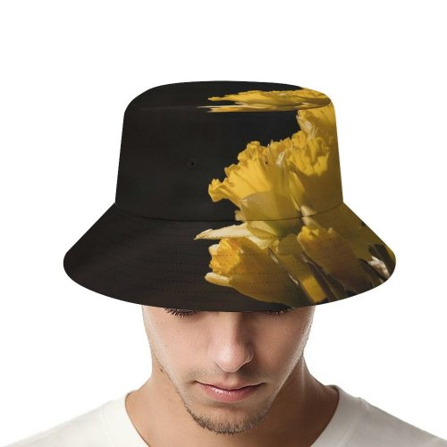 yanfind Adult Fisherman's Hat Images Arrangement Plant Commons Bouquet Home Blossom Flower Daffodil Spring Narcissus Creative Fishing Fisherman Cap Travel Beach Sun protection