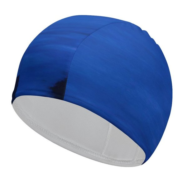 yanfind Swimming Cap Wasim Nazareth Pacific Coast Highway California Car Lights Exposure Seascape Dusk Sunset Elastic,suitable for long and short hair