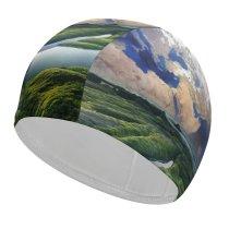 yanfind Swimming Cap PIROD Space   Solaris Sea Elastic,suitable for long and short hair
