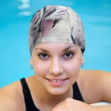 yanfind Swimming Cap Wendy Corniquet  Winter Elastic,suitable for long and short hair