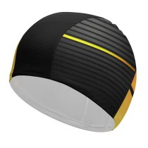 yanfind Swimming Cap Technology Dark  Abstract Elastic,suitable for long and short hair