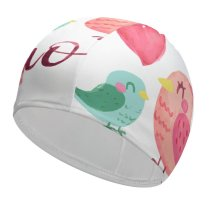 yanfind Swimming Cap Celebrations I Love You Mom Happy Mother's Elastic,suitable for long and short hair