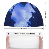 yanfind Swimming Cap William Warby Jellyfish Underwater Glowing Elastic,suitable for long and short hair