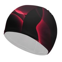 yanfind Swimming Cap Abstract Dark IOS AMOLED Elastic,suitable for long and short hair