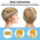 yanfind Swimming Cap William Warby Lioness Paradise Wildlife Park Park Golden Rock Elastic,suitable for long and short hair