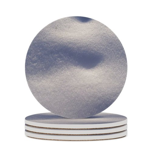 yanfind Ceramic Coasters (round) Snow Winter  Christmas Texture Sky Cloud Atmospheric Daytime Freezing Meteorological Frost Family Game Intellectual Educational Game Jigsaw Puzzle Toy Set