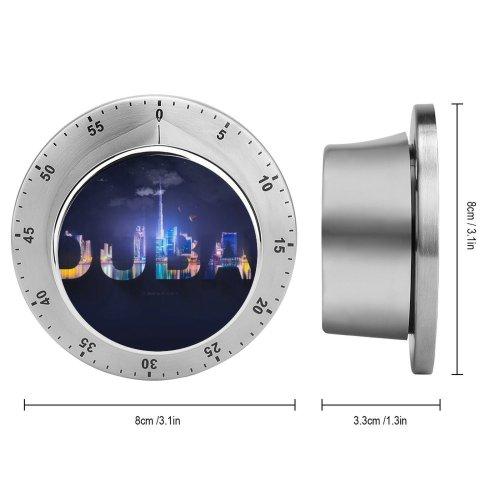yanfind Timer Hudson Lima Dubai Typography Digital Art 60 Minutes Mechanical Visual Timer