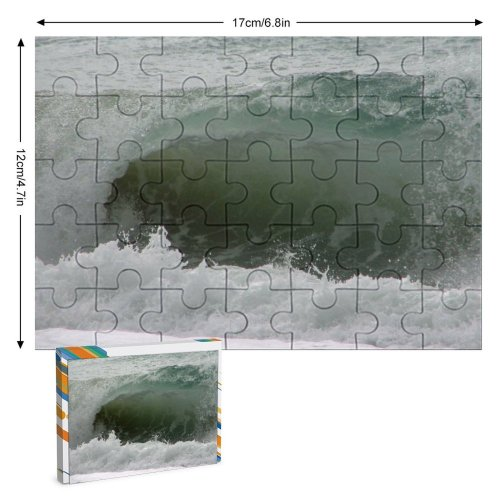 yanfind Picture Puzzle Wave Sea Coast Clean  Surf Wind Ocean  Sports Surfing Boardsport Family Game Intellectual Educational Game Jigsaw Puzzle Toy Set