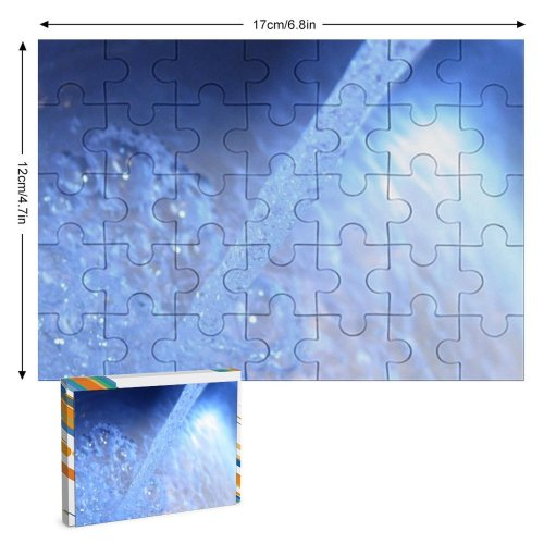 yanfind Picture Puzzle  Drench Clear Colorful  Wave Bubbles Natural Reflection  Ripples Family Game Intellectual Educational Game Jigsaw Puzzle Toy Set