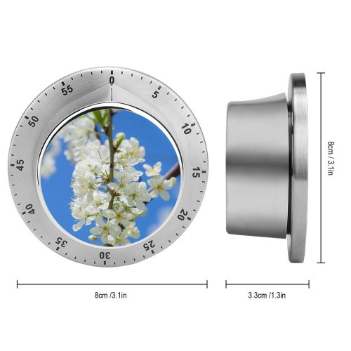 yanfind Timer Images Aptekarskiy Flowers Plant Pictures Ogorod  Flower Garden Plum Spring Pollen 60 Minutes Mechanical Visual Timer