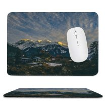 yanfind The Mouse Pad Vehicle Peak Building Abies Housing Plant Creative Aircraft Pictures Transportation Outdoors Pattern Design Stitched Edges Suitable for home office game