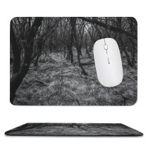 yanfind The Mouse Pad Sad Plant Woodland Forest Wilderness Creative Grove Pictures Ground Outdoors Jungle Pattern Design Stitched Edges Suitable for home office game