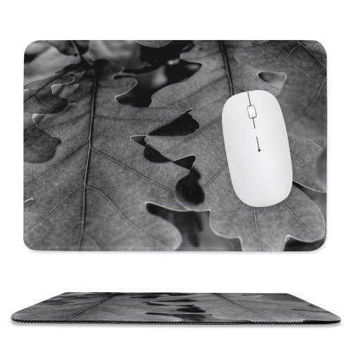 yanfind The Mouse Pad Tree Trees Leaf Leaves Colorful Young Grow Growing Spring Springtime Sun Sunshine Pattern Design Stitched Edges Suitable for home office game