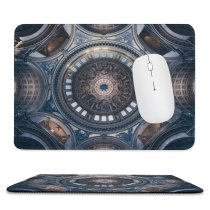 yanfind The Mouse Pad Otto Berkeley St Paul's Cathedral United Kingdom London Church Dome Ceiling Look Pattern Design Stitched Edges Suitable for home office game
