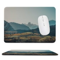 yanfind The Mouse Pad Abies Scenery Range Tree Mountain Housing Plant Fir Ice Outdoors Wallpapers Pattern Design Stitched Edges Suitable for home office game