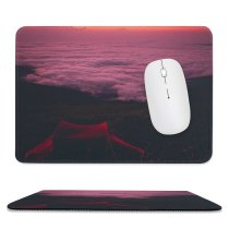 yanfind The Mouse Pad Abruzzo Crest Mountain Panorama Activities Cloudy Italia PNG Leisure Wallpapers Tent Pattern Design Stitched Edges Suitable for home office game