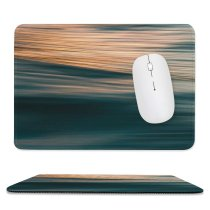 yanfind The Mouse Pad Landscape Pictures PNG Ripple Boat Outdoors Abstract Sunset City HQ Wave Pattern Design Stitched Edges Suitable for home office game