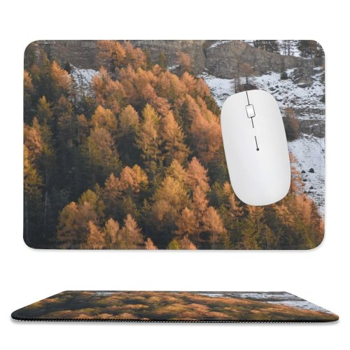 yanfind The Mouse Pad Sankt Abies Pine Plant Slope Pictures PNG Italia Outdoors Tree Val Pattern Design Stitched Edges Suitable for home office game